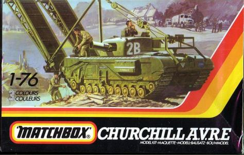 churchill-avre-matchbox