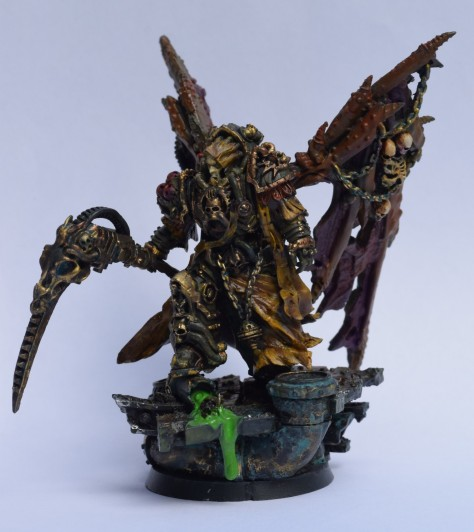 Grim Skull Miniatures: Mortarion | The Butterfingered