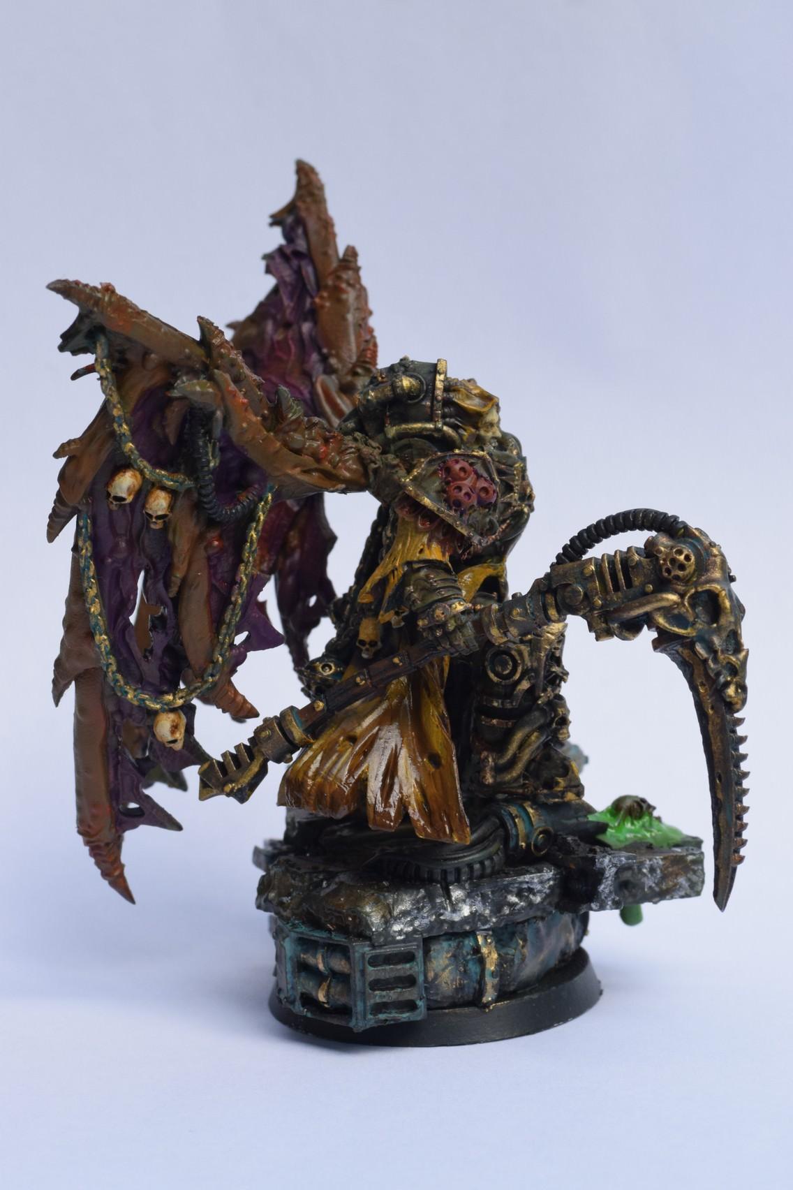 Grim Skull Miniatures: Mortarion - The Butterfingered ...